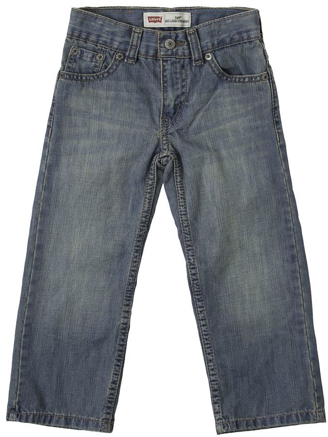 Levi's Toddler 505 Relaxed Straight-Leg Jeans