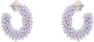 Mignonne Gavigan Mini Taylor Hoop Earrings - Light Blue