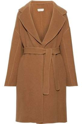 Max Mara Garibo Belted Brushed Wool And Mohair-blend Coat