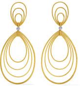 Buccellati Hawaii Waikiki 18-karat Yellow And White Gold Earrings