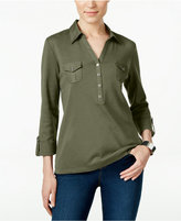 Karen Scott Polo Top, Only at Macy's