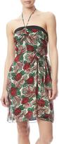 Anna Sui Rose Sarong Dress