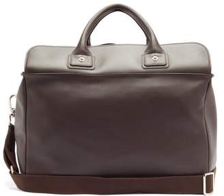 Connolly - Sea 1902 Medium Leather Holdall - Womens - Dark Brown