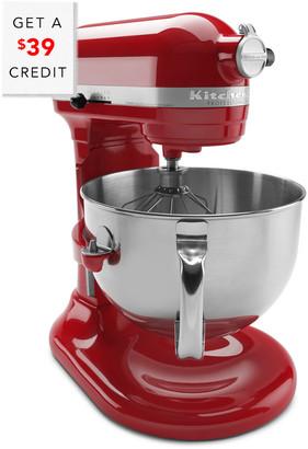 KitchenAid Professional 600 Series 6Qt Bowl Lift Stand Mixer - Kp26m1xer With A $39 Credit