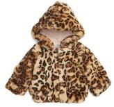 Splendid Infant Girl's Faux Fur Jacket