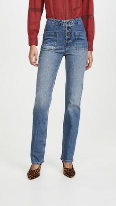 Reformation Elsie Straight Leg Jeans