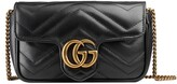 Thumbnail for your product : Gucci GG Marmont matelasse leather super mini bag