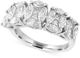Effy Diamond Five Stone Ring (2-1/4 ct. t.w.) in 14k White Gold