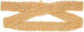 Carolina Bucci Woven 18-karat Yellow And White Gold Bracelet - one size