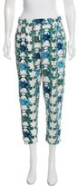 M Missoni Cropped Floral Pants