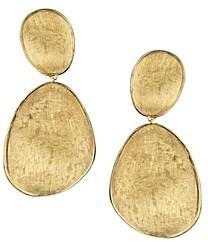 Marco Bicego 18K Yellow Gold Lunaria Two Drop Earrings