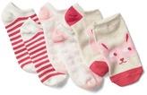 Gap Animal no-show socks (3-pairs)