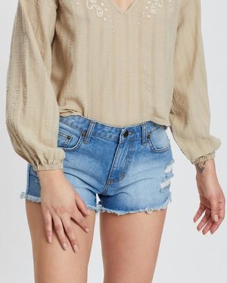 Rusty Wonder 2 Denim Shorts