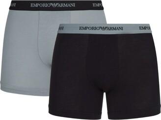 Giorgio Armani Stretch-Cotton Boxer Briefs (Pack Of 2)