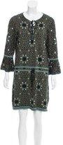 Rachel Zoe Jacquard Mini Dress