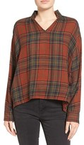 Madewell Women's Highroad Plaid Popover Shirt