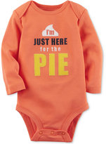 Carter's Here For The Pie Cotton Thanksgiving Bodysuit, Baby Boys and Girls (0-24 months)