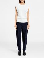 DKNY Pullover Vest With Rib Trim