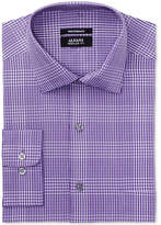 Alfani Men's Classic Fit Performance Stretch Easy-Care Plaid Dress Shirt, Created for Macy's