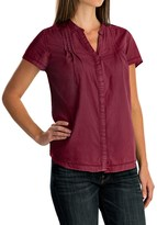 Woolrich Clare Woods Shirt - Short Sleeve (For Women)