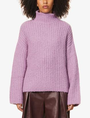 Samsoe & Samsoe Reeves turtleneck wool-blend jumper