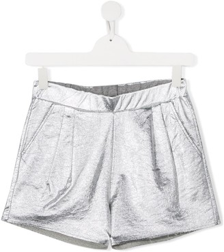 Douuod Kids TEEN fitted stretch shorts