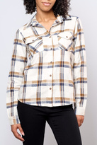 RVCA Jig Flannel Blouse