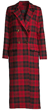 Mother of Pearl Women's Mable Wool Plaid Coat