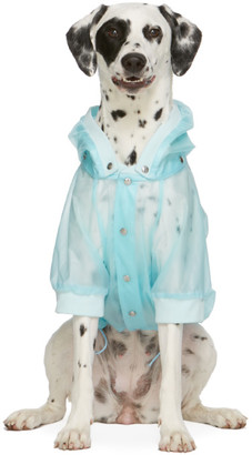 MONCLER GENIUS Blue Poldo Dog Couture Edition Waterproof Coat
