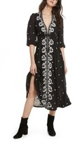 Free People Women's Embroidered Maxi Dress