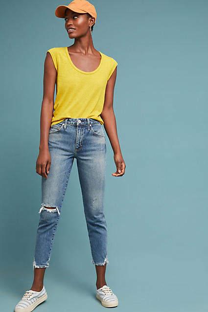 Amo Stix High-Rise Skinny Cropped Jeans