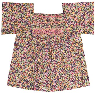 Bonpoint Pays floral cotton top