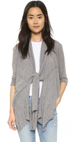 Bobi Draped Cardigan