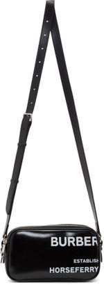 Burberry Black Small Canvas Camera Bag