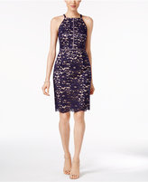 Vince Camuto Lace Halter Sheath Dress
