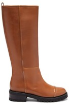 Thumbnail for your product : Malone Souliers Beda Leather Boots - Tan