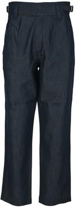MAISON KITSUNÉ Jeanne Worker Jeans