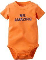 Carter's Baby Boy Graphic Bodysuit