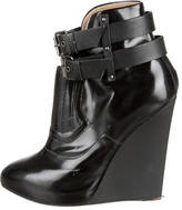 Proenza Schouler Pointed-Toe Wedge Ankle Booties