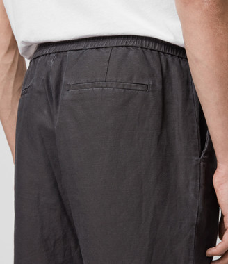 AllSaints Luckett Cropped Slim Trousers