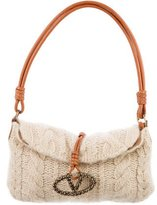 Valentino Knitted Catch Bag