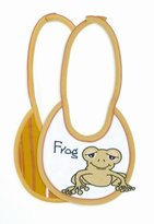 Mud Pie Baby Animal Crackers Frog Bib by