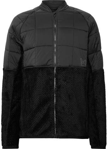 Burton Ak Hybrid Insulator Polartec® Fleece And Ripstop Ski Jacket