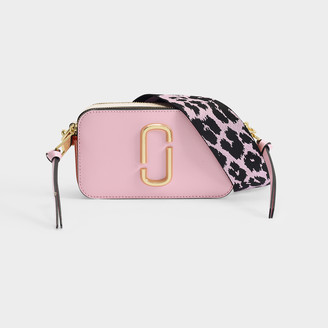 Marc Jacobs Snapshot Bag In Pink Leather With Polyurethane Coa
