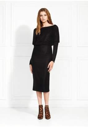 Rachel Zoe Emmaline Stretch Velvet Midi Dress