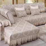 HDVHXVHJWCXHX Non-slip abric Soa Cushion/European Style,our Seasons O Solid Wood, Soa Cover Towel/Soa Cushions