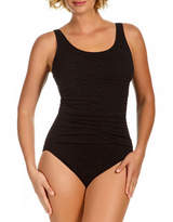 Penbrooke Scoop Neck Empire One-Piece Swimsuit