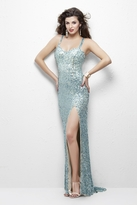 Primavera Couture - 1108 All Sequin Sweetheart Evening Gown