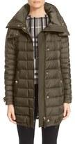 Burberry 'Harrowden' Hooded Down Coat