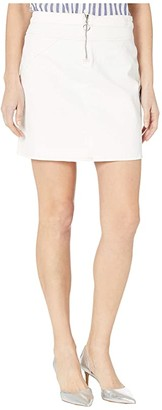 7 For All Mankind Seamed Mini Skirt (Sunset Boulevard) Women's Skirt